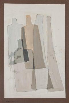 Still life - Original Painting by Alkis Matheos - Mid-20th century
