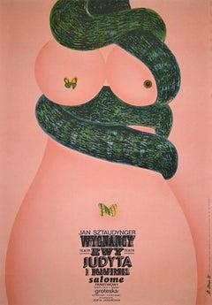 Doll theatre - Salome - Original Poster by Al.Konir - 1975
