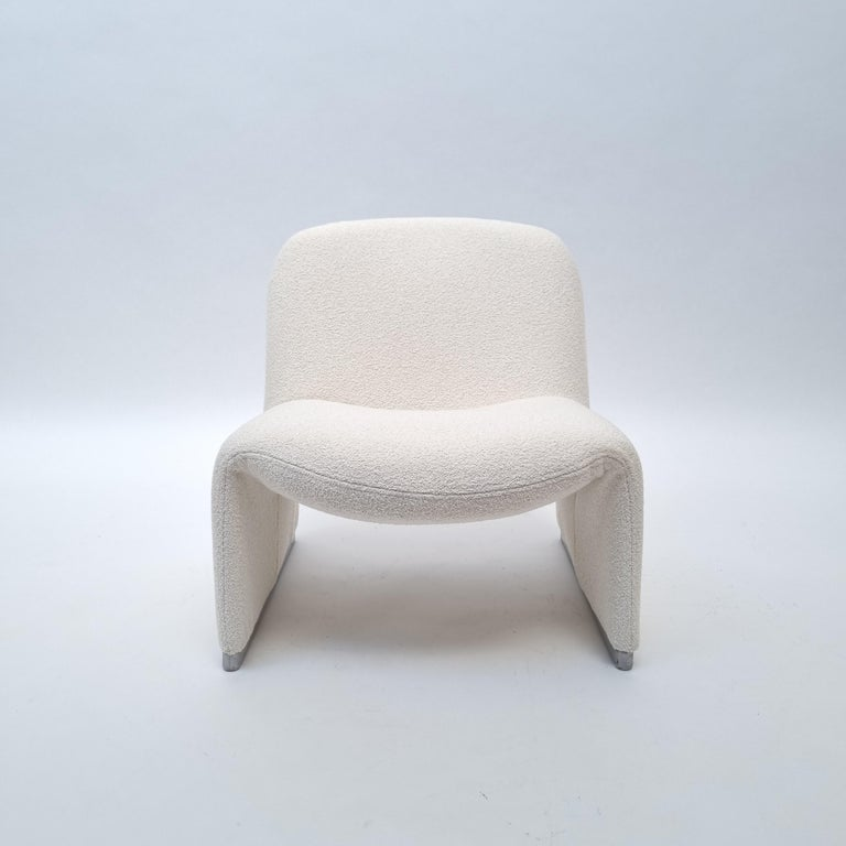 Mid-Century Modern Alky Armchair by Giancarlo Piretti for Castelli, Italy, 1970s For Sale