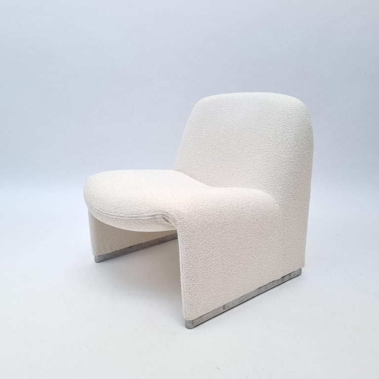 Italian Alky Armchair by Giancarlo Piretti for Castelli, Italy, 1970s For Sale