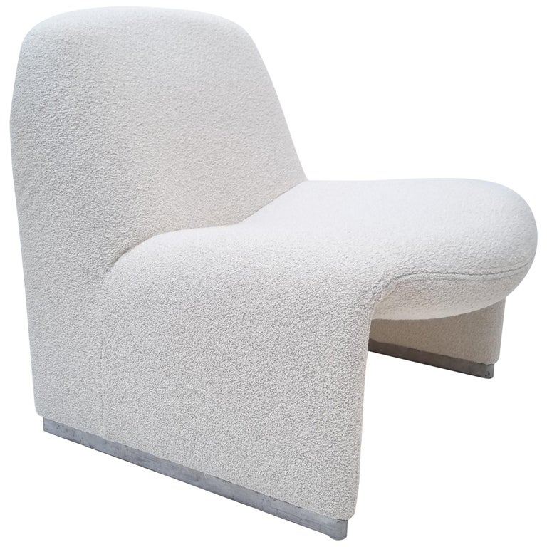 Alky Armchair by Giancarlo Piretti for Castelli, Italy, 1970s For Sale