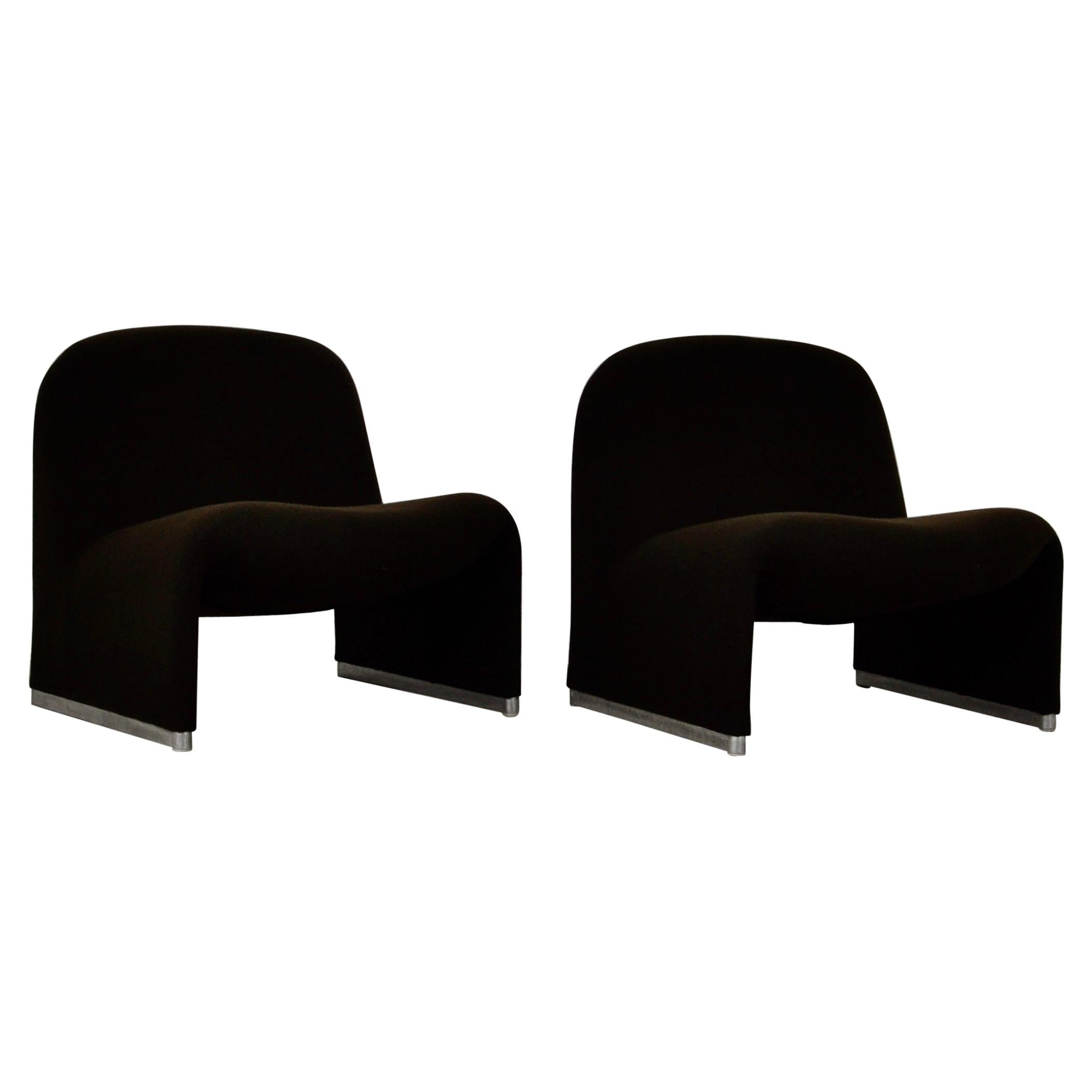 Alky Chair by Giancarlo Piretti for Anonima Castelli, 1970s, Set 2
