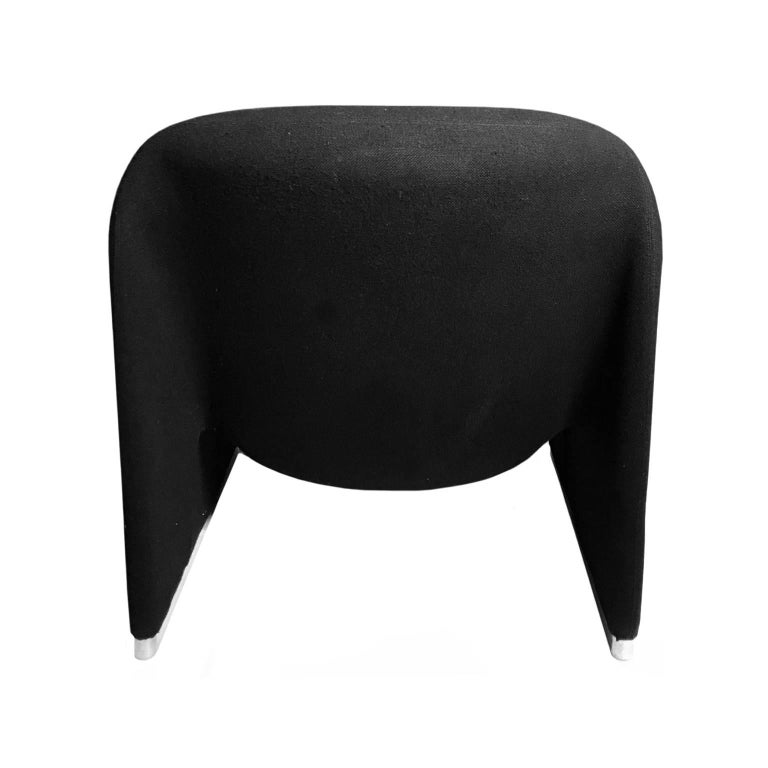 Italian Alky Chair in Black by Giancarlo Piretti for Castelli For Sale