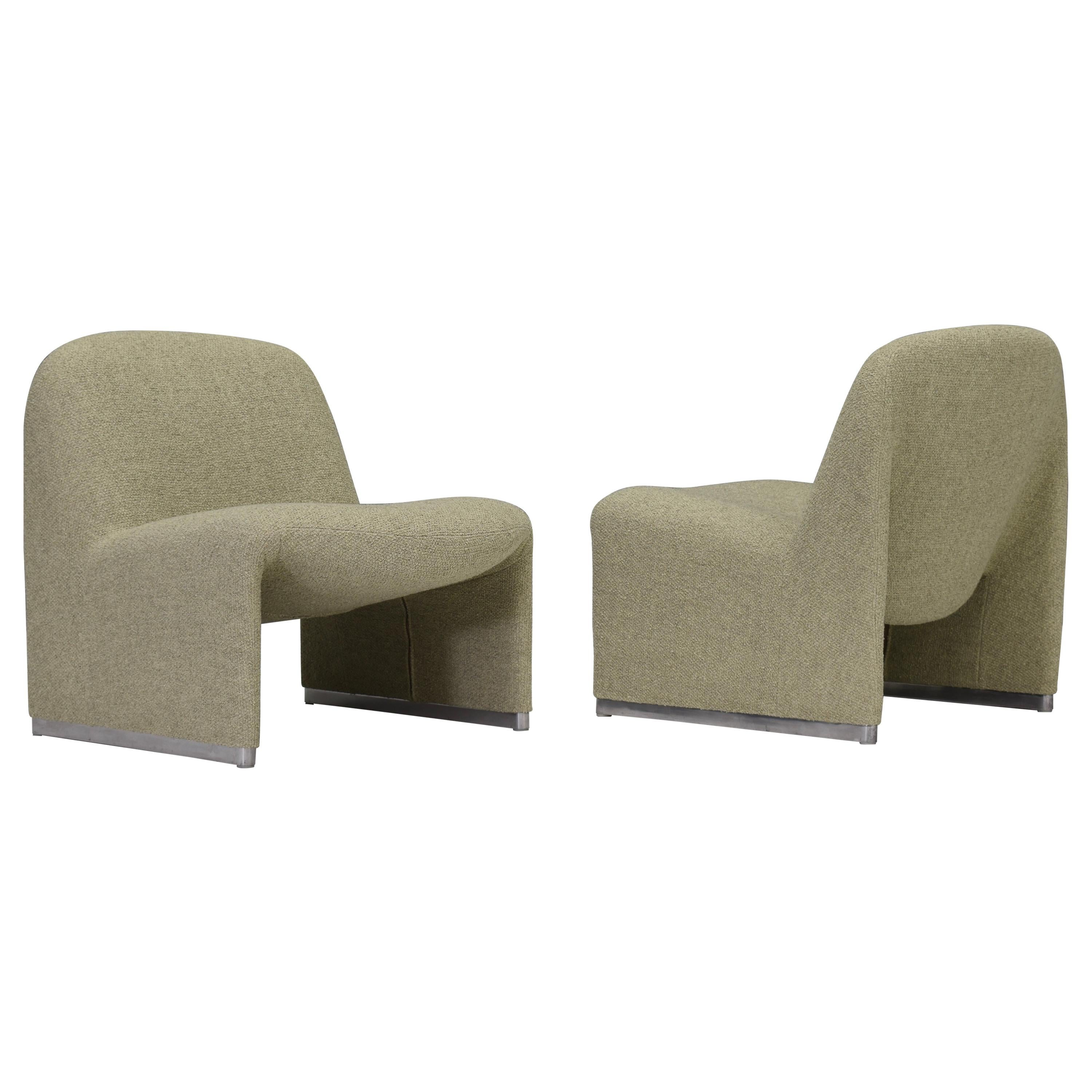 Alky Chairs by Giancarlo Pirettie for Artifort and Castelli, Italy, circa 1970