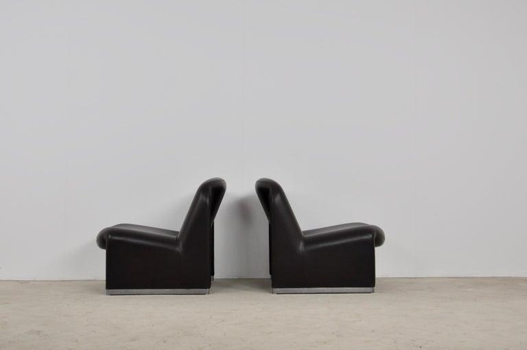Italian Alky Skaï Chair by Giancarlo Piretti for Anonima Castelli, 1970s