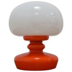 All Glass Table Lamp by Valasske Mezirici, 1970's