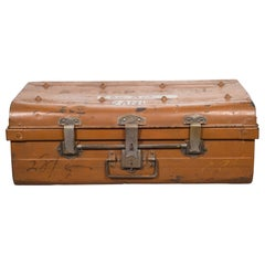 All Metal English Trunk, circa 1920