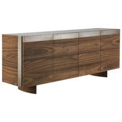 All Oak Walnut Sideboard