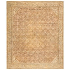 All Over Design Antique Indian Amritsar Rug. Size: 12 ft 6 in x 14 ft 10 in