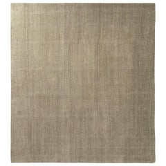 Rug & Kilim's All-Over Modern Rug Silver Gray Silk Texture of Color