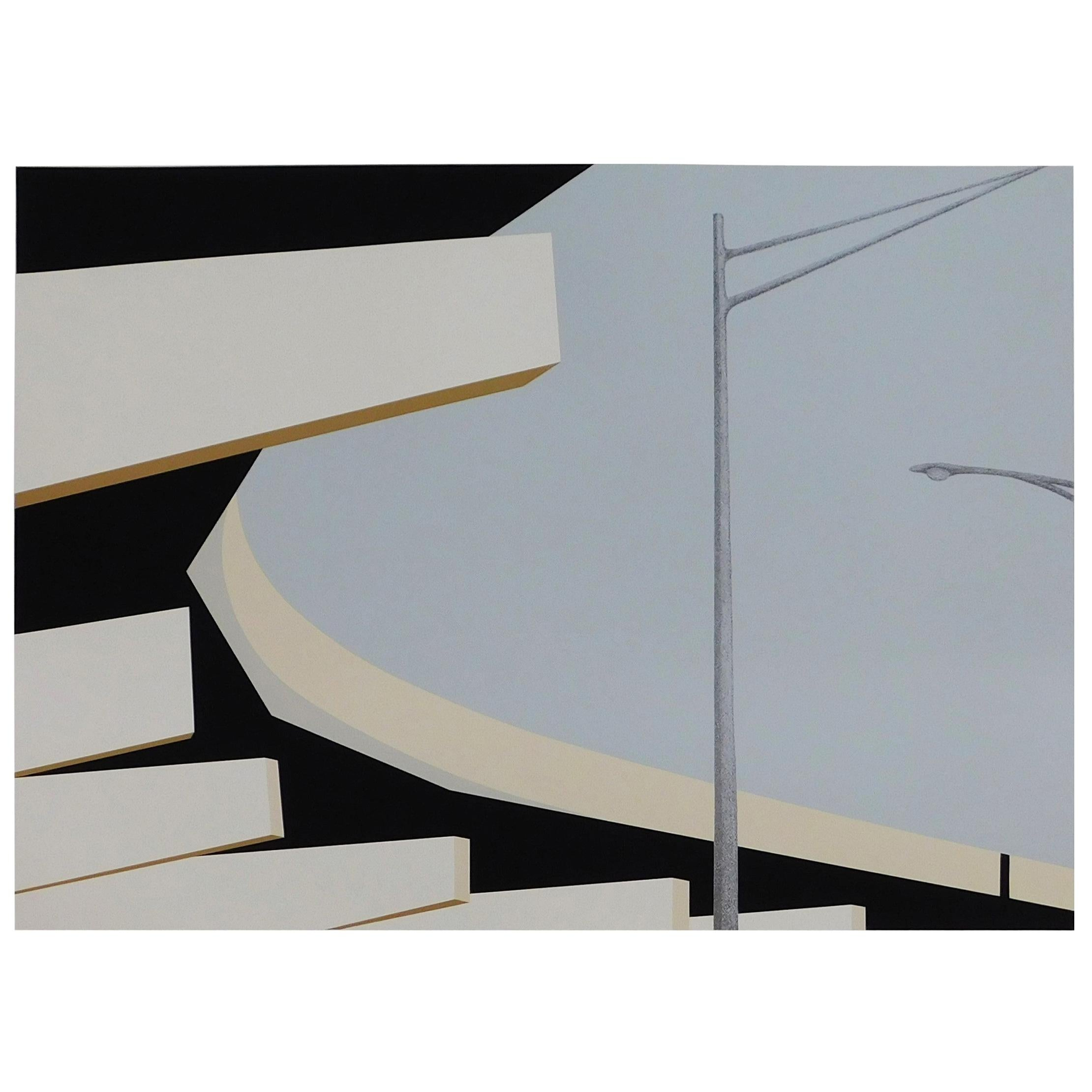 Allan D'Arcangelo '1930-1998' 1979 Signed and Numbered Serigraph Print