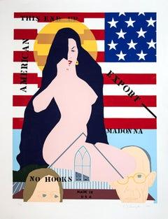 American Madonna, Pop Art Silkscreen by Allan D'arcangelo