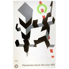 Allan D'Arcangelo Olympics Munich 1972 Poster