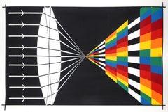 14th New York Film Festival, Pop Art Silkscreen by Allan D'Arcangelo