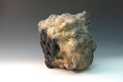 """""""Woven Environment"""", textured ceramic in grays, embodies essential clay"""