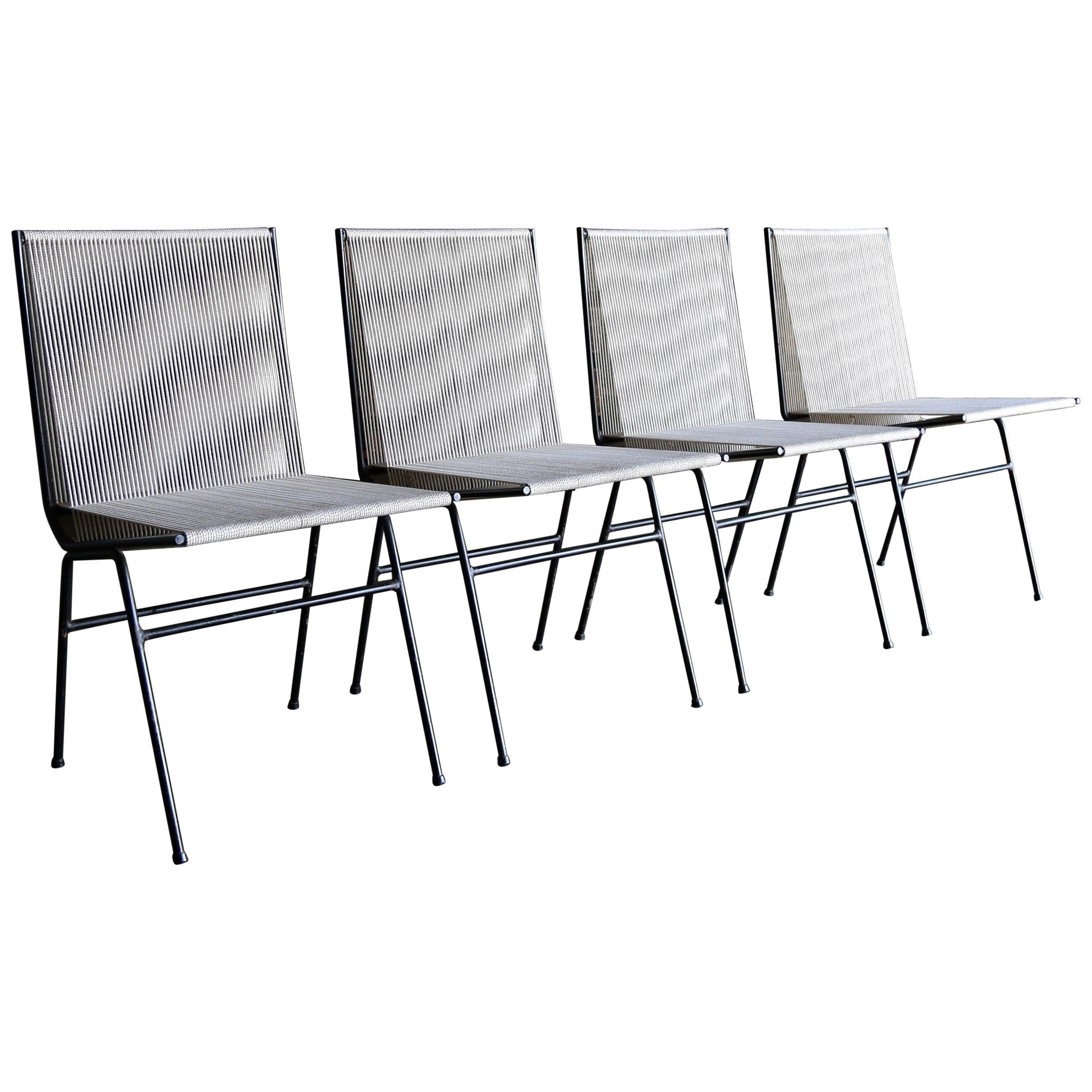 Allan Gould Dining Chairs, circa 1952