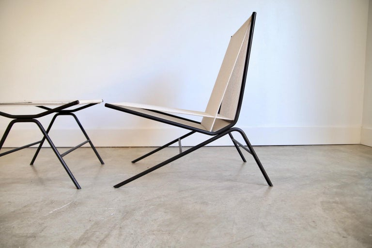 Allan Gould String Chair In Good Condition For Sale In St. Louis, MO