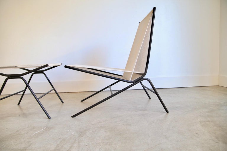 Mid-20th Century Allan Gould String Chair For Sale