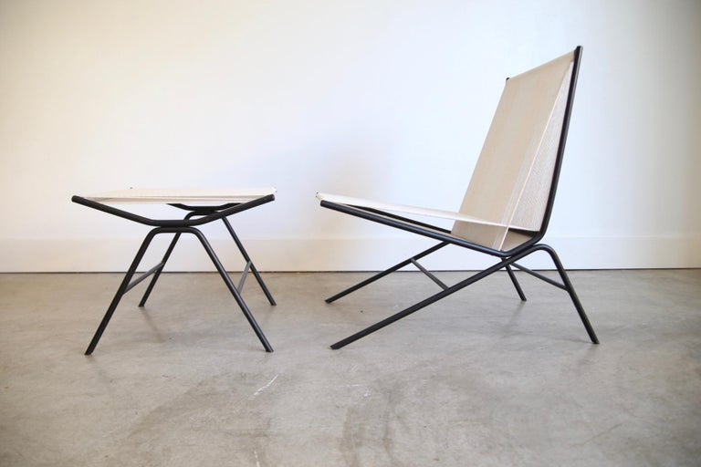 Iron Allan Gould String Chair For Sale