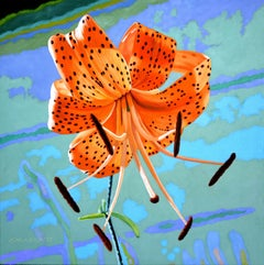 My Tiger Lily, Painting, Oil on Canvas