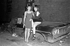 CBGB Punk Fashion with Anya and Sylvia - Archival Fine Art Black and White Print