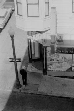 Grant Ave North Beach San Fran -  Fine Art Limited Edition Black and White Print