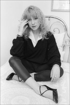 Helen Mirren Hotel Bedroom Portrait - Archival Fine Art Black and White Print
