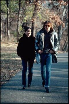 John Lennon Yoko Ono Central Park Stroll -  Fine Art Limited Edition Color Print