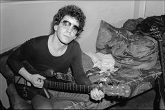 Lou Reed Backstage at The Bottom Line NYC -  Fine Art Limited Edition B&W Print