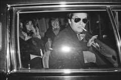 Movie Star Jack Nicholson Limo -  Fine Art Limited Edition Black & White Print