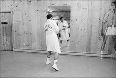 Muhammad Ali Boxing Champ Training - Archival Fine Art Black and White Print