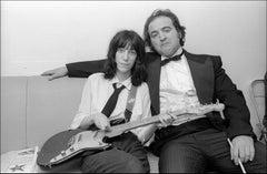 Patti Smith and John Belushi SNL - Archival Fine Art Black and White Print