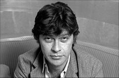 Robbie Robertson Portrait Close-Up - Archival Limited Edition B&W Fine Art Print