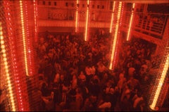 Studio 54 Dance Floor Light Poles View - Fine Art Limited Edition Color Print