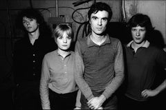 Talking Heads Backstage LMOC '77 -  Fine Art Limited Edition Black & White Print
