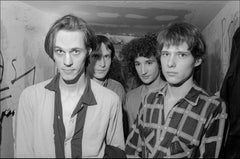 Television Backstage at CBGB '77 -  Fine Art Limited Edition Black & White Print