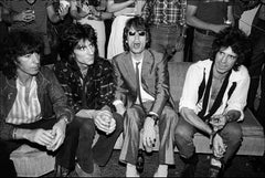 The Rolling Stones at Danceteria - Archival Black and White Fine Art Print