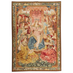 Allegorical for Music' Tapestry after a Wagrez & Braquenier Design