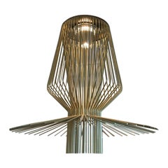 Foscarini Gold Allegro Assai Suspension Chandelier by Atelier Oi, Large Size