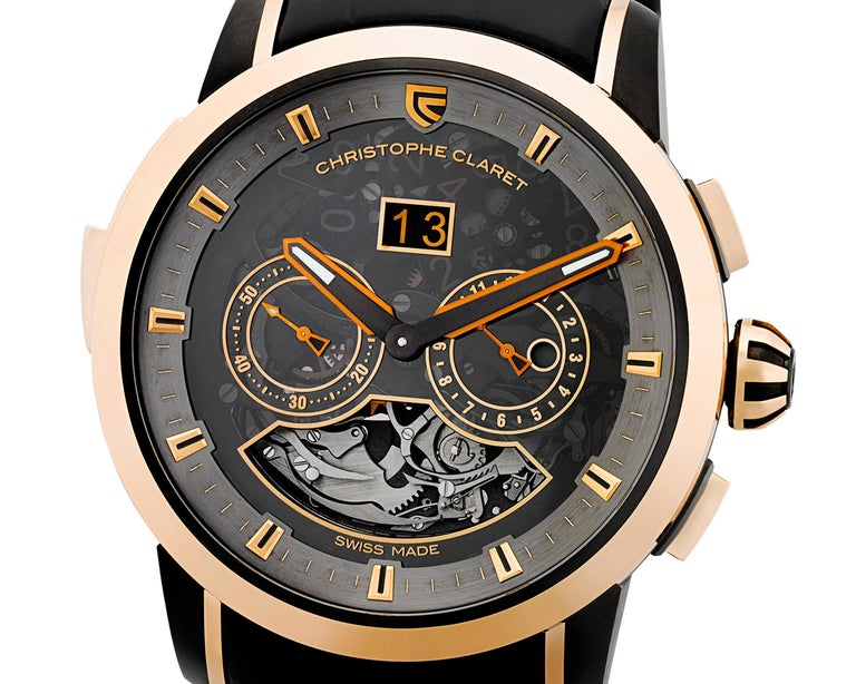 Modern Allegro Limited Edition Watch by Christophe Claret For Sale