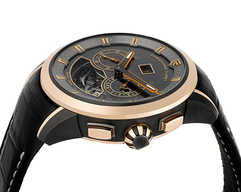 Allegro Limited Edition Watch by Christophe Claret In Excellent Condition For Sale In New Orleans, LA