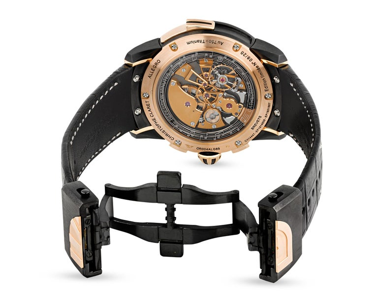 Allegro Limited Edition Watch by Christophe Claret For Sale 1