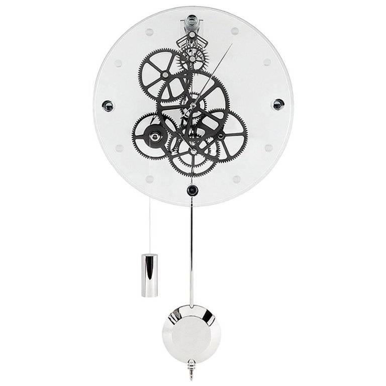 Allegro Teckell Takto Contemporary Mechanical Wall Clock With