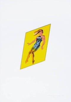Catwalk Fragment, Etching, Pop Art, British Art, 20th Century