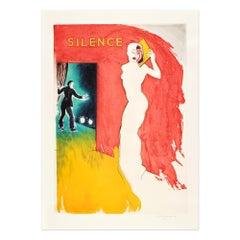 Catwalk I, Etching in Colors, Pop Art, British Art, 20th Century