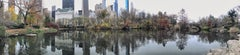 """""""The Pond, Central Park, NYC"""", Urban Color Photography, New York City panorama"""
