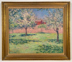 Red Barns and Apple Trees