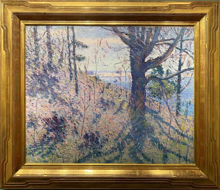 Spring Hillside, Probably Maine - Art by Allen Tucker