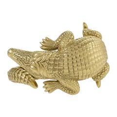 Alligator Bangle Bracelet by Barry Kieselstein-Cord