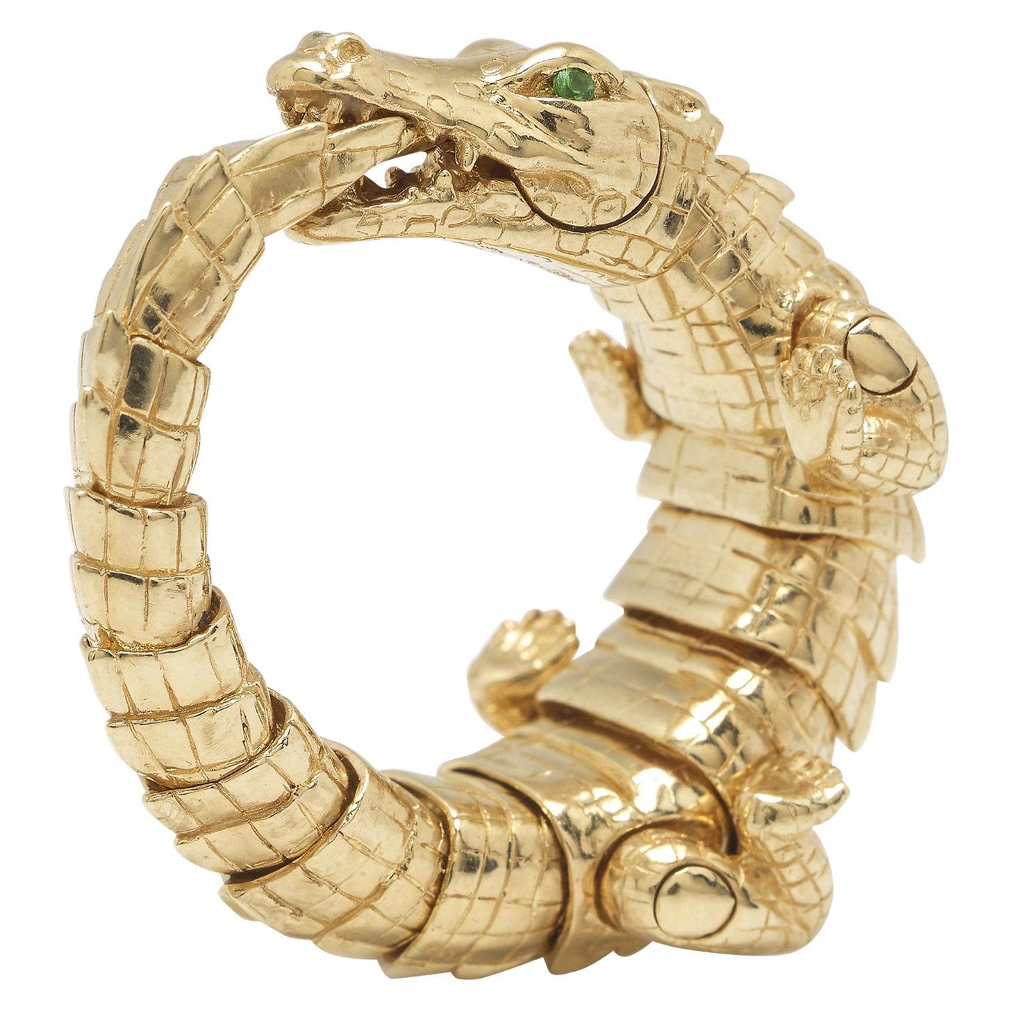 Alligator Wrap Ring